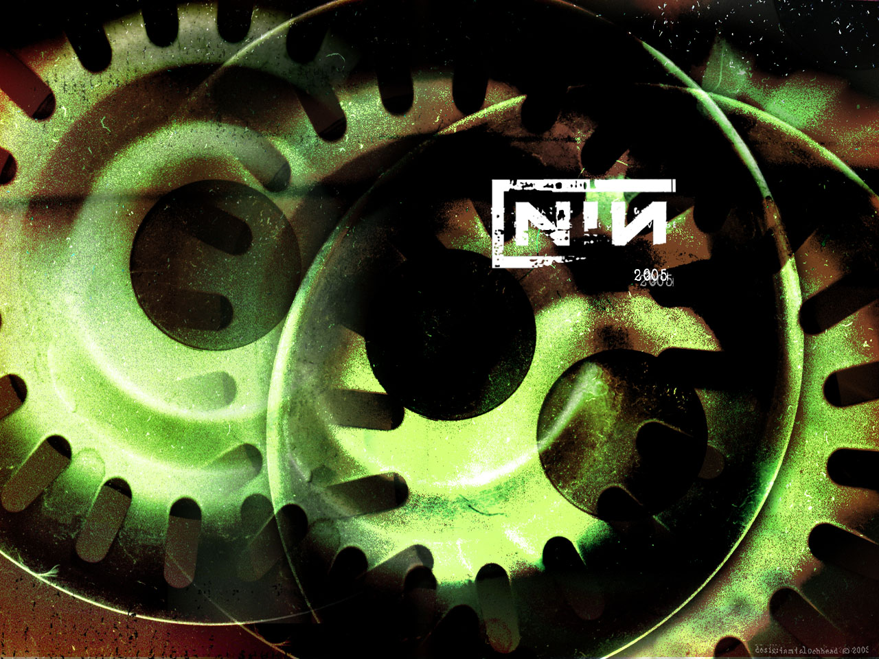nine inch nails 2005 desktop background